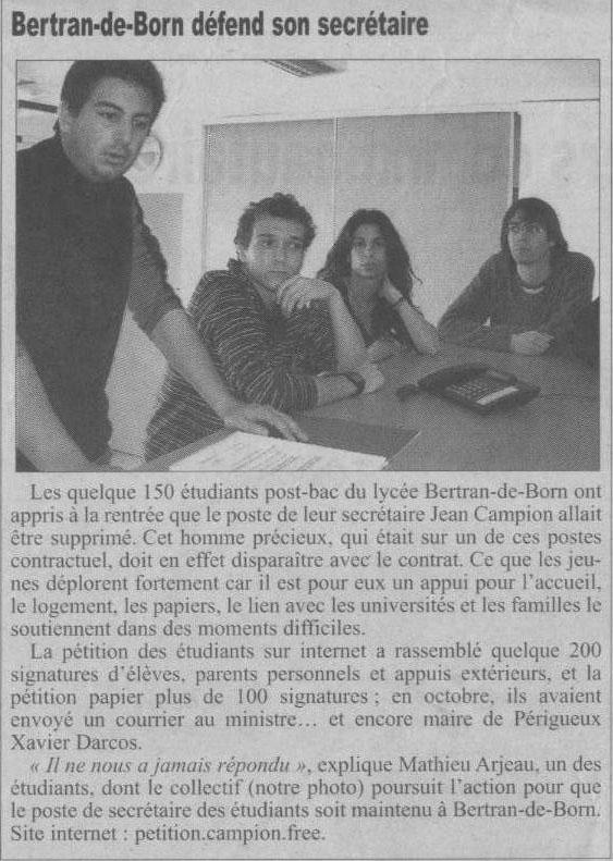 Dordogne Libre 11 avril